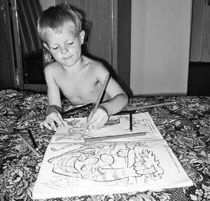 Левша. Рисующий мальчик